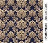 wallpaper baroque  damask....   Shutterstock .eps vector #2012213606