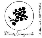 flower arrangement icon....   Shutterstock .eps vector #2012394086