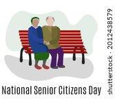 national senior citizens day ... | Shutterstock .eps vector #2012438579