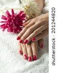 woman hand | Shutterstock . vector #201244820