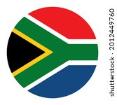 southern africa flag circle... | Shutterstock .eps vector #2012449760