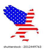 united states of america flag... | Shutterstock .eps vector #2012449763