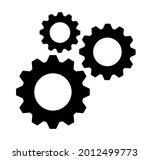 clockwork gears mechanism...   Shutterstock .eps vector #2012499773