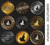 cameroon business metal stamps. ... | Shutterstock .eps vector #2012518850