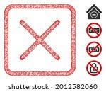 mesh close web icon vector... | Shutterstock .eps vector #2012582060