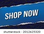 shop now word concept vector...