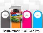 3d rendering education graduate ... | Shutterstock . vector #2012665496