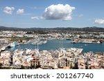Ibiza Spain May 1 Ibiza Harbor...