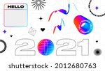 urban white background with... | Shutterstock .eps vector #2012680763