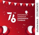 indonesia tangguh indonesia... | Shutterstock .eps vector #2012682650