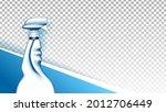 detergent liquid blank spray...   Shutterstock .eps vector #2012706449