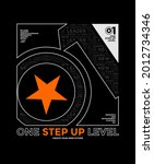 one step up level  modern and... | Shutterstock .eps vector #2012734346