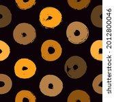 polka dot paint brush seamless... | Shutterstock .eps vector #2012800046