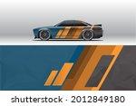 car wrap decal designs.... | Shutterstock .eps vector #2012849180