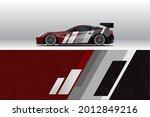 car wrap decal designs.... | Shutterstock .eps vector #2012849216