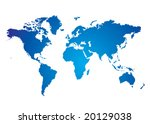 blue and white illustrated... | Shutterstock .eps vector #20129038