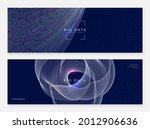 abstract tech visuals. digital... | Shutterstock .eps vector #2012906636
