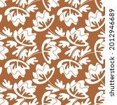 seamless floral pattern based...   Shutterstock .eps vector #2012946689