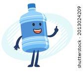 cartoon water bottle character  ...   Shutterstock .eps vector #2013024209