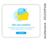 web browser cookie to save data ...