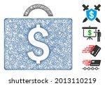 mesh commercial briefcase web... | Shutterstock .eps vector #2013110219