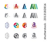 logo letter a element and... | Shutterstock .eps vector #2013182816