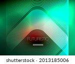 neon color square shape lines...   Shutterstock .eps vector #2013185006