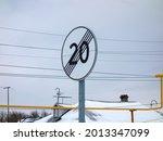 "Noticeable Steel Road Sign ""end ..."