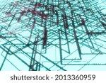 geometric scheme pattern on a...   Shutterstock . vector #2013360959