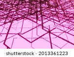 geometric scheme pattern with...   Shutterstock . vector #2013361223
