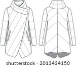 fashion quilt dawn feather... | Shutterstock .eps vector #2013434150