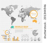map infographic | Shutterstock .eps vector #201344546