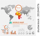 map infographic | Shutterstock .eps vector #201344576