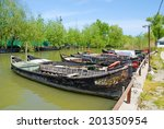 vilkovo  ukraine   may 04  2010 ... | Shutterstock . vector #201350954