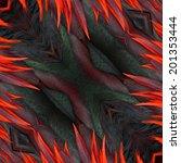 seamless pattern made from... | Shutterstock . vector #201353444