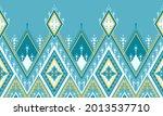 geometric ethnic oriental... | Shutterstock .eps vector #2013537710
