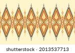 geometric ethnic pattern... | Shutterstock .eps vector #2013537713