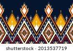 geometric ethnic pattern... | Shutterstock .eps vector #2013537719