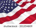 Flag Of The Usa.