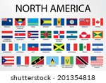alphabetical country flags for... | Shutterstock . vector #201354818