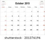 Vector Planning Calendar...