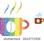 hot coffee cup composition icon ...   Shutterstock .eps vector #2013771920