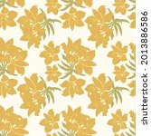 seamless floral pattern in...   Shutterstock .eps vector #2013886586