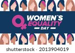 women's equality day in united... | Shutterstock .eps vector #2013904019