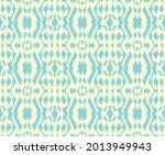 ikat border. geometric folk... | Shutterstock .eps vector #2013949943