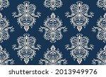 oriental vector damask pattern. ... | Shutterstock .eps vector #2013949976