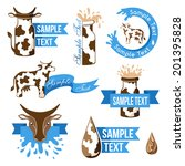 badge,banner,blue,can,cheese,collection,cow,cream,creative,dairy,decor,decoration,decorative,design,drink