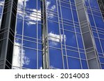 Abstract Of A City Building