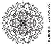 company name mandala nature eps ... | Shutterstock .eps vector #2014093010