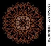 company name mandala nature eps ... | Shutterstock .eps vector #2014093013